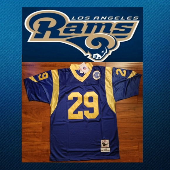 sports shoes 62df6 7569c Eric Dickerson Los Angeles Rams Jersey Boutique